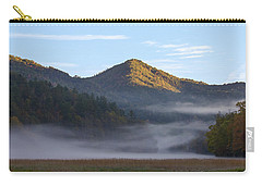 Ground Fog In Cataloochee Valley - October 12 2016 Carry-all Pouch