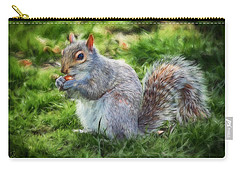 Carry-all Pouch featuring the photograph Ground Squirrel by Pennie  McCracken