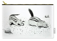 Ground Squirrels Carry-all Pouch