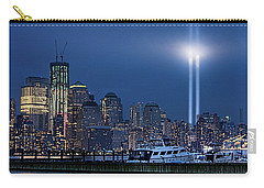 Ground Zero Tribute Lights And The Freedom Tower Carry-all Pouch