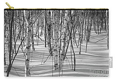 Group Of White Birches Carry-all Pouch by Alana Ranney