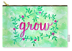 Grow Watercolor Carry-all Pouch