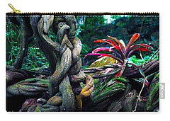 Grow Where You're Planted II Carry-all Pouch by Patricia Griffin Brett