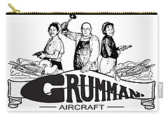 Grumman Aircraft Est 1929 Carry-all Pouch