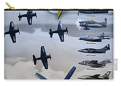 Grumman Blue Angels Cats Carry-all Pouch