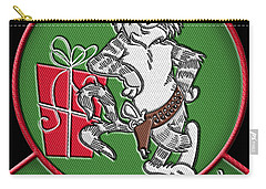 Grumman Merry Christmas Carry-all Pouch