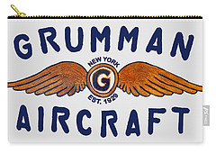 Grumman Wings Blue Carry-all Pouch