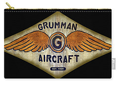 Grumman Wings Diamond Carry-all Pouch