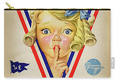 Grumman Worker Sleeping Poster Carry-all Pouch