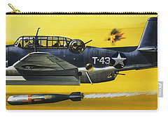 Grummen Tbf1 Avenger Bomber Carry-all Pouch