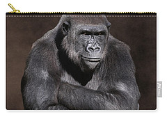Grumpy Gorilla Carry-all Pouch