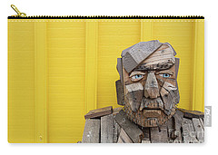 Carry-all Pouch featuring the photograph Grumpy Old Man by Edward Fielding