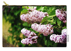 Grunge Lilacs Carry-all Pouch