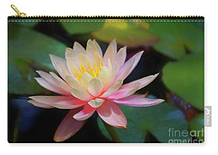 Grutas Water Lilly Carry-all Pouch by John Kolenberg