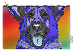 Gsd In Digi Blue Carry-all Pouch