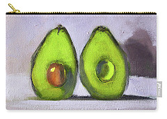 Carry-all Pouch featuring the painting Guacamole by Nancy Merkle