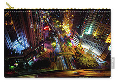 Guangzhou City Streets At Night Carry-all Pouch