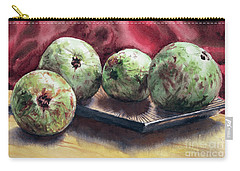 Carry-all Pouch featuring the painting Guapples by Joey Agbayani