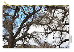 Carry-all Pouch featuring the photograph Guard Shack At Fort Tejon Lebec California by Floyd Snyder