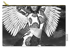 Guardian Angel 7 Carry-all Pouch by Suzanne Silvir