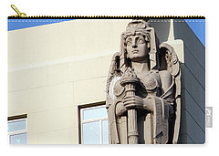 Guardian Angel And Blue Carry-all Pouch