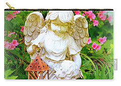 Carry-all Pouch featuring the photograph Guardian Angel by Lisa Wooten
