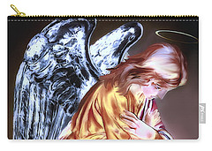 Guardian Angel Carry-all Pouch by Pennie  McCracken