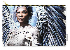 Guardian Angel Poster Carry-all Pouch by Suzanne Silvir