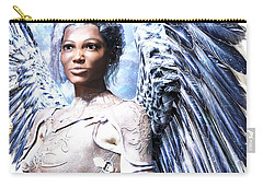 Guardian Angel2 Carry-all Pouch by Suzanne Silvir