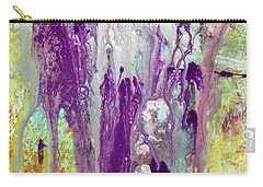 Guardian Angels - Colorful Spiritual Abstract Art Painting Carry-all Pouch