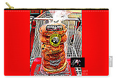 Carry-all Pouch featuring the photograph Guarding The Basket by Richard W Linford