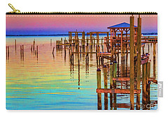 Guarding The Dock Carry-all Pouch by Roberta Byram