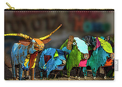Carry-all Pouch featuring the photograph Guess Who's Coming To Dinner by Paul Wear