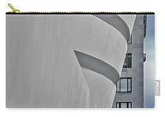Carry-all Pouch featuring the photograph Guggenheim Museum And Esb by Susan Candelario