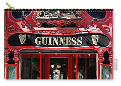 Carry-all Pouch featuring the photograph Guinness Beer 5 by Andrew Fare