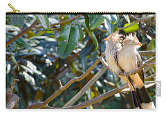 Carry-all Pouch featuring the photograph Guira Cuckoo by Donna Brown