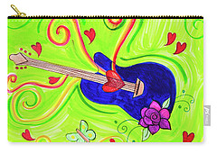 Sound Of Swirls Carry-all Pouch