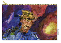 Guitar Man Carry-all Pouch by Shirley Stalter