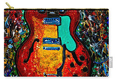 Guitar Scene Carry-all Pouch