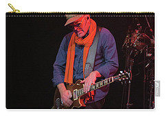 Carry-all Pouch featuring the photograph Guitarest Atwork by Aaron Martens