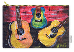 Guitars In Miniature Carry-all Pouch