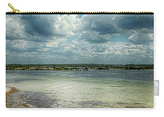 Carry-all Pouch featuring the photograph Gulf Beach Beauty by Judy Hall-Folde