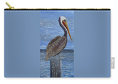 Gulf Coast Brown Pelican Carry-all Pouch