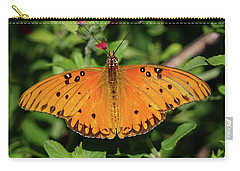 Gulf Fritillary Butterfly Carry-all Pouch