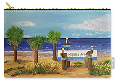 Gulf Shore Welcome Carry-all Pouch