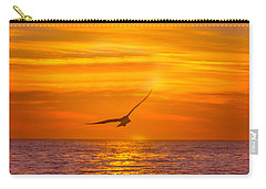 Gull At Sunrise Carry-all Pouch