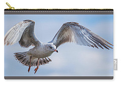 Gull Hover In Gray Carry-all Pouch