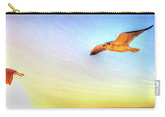 Gull In Sky Carry-all Pouch