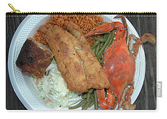 Gullah Plate Carry-all Pouch