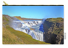 Gullfoss Falls Carry-all Pouch by Allan Levin